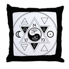 New Hermetics Seal Throw Pillow