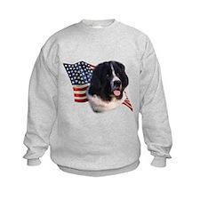 Newfie Flag Sweatshirt