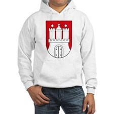 Hamburg Coat of Arms (small) Hoodie