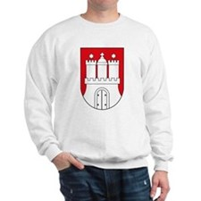 Hamburg Coat of Arms (small) Sweatshirt