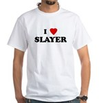 I Love SLAYER White T-Shirt