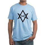Black Unicursal Hexagram Shirt