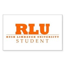Rush Limbaugh Student Rectangle Decal
