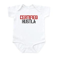 Certified Hustla Infant Bodysuit