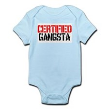 Certified Gangsta Infant Bodysuit