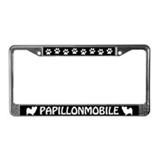 Papillonmobile License Plate Frame