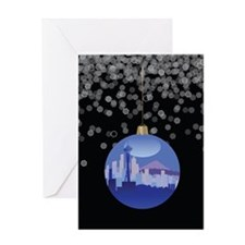 Seattle Ornament Greeting Card