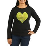 Hug your Kids Heart Women's Long Sleeve Dark T-Shi