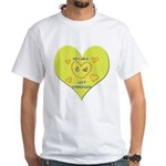 Hug your Kids Heart White T-Shirt