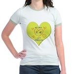 Hug your Kids Heart Jr. Ringer T-Shirt