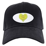 Hug your Kids Heart Black Cap