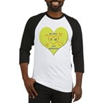 Hug your Kids Heart Baseball Jersey