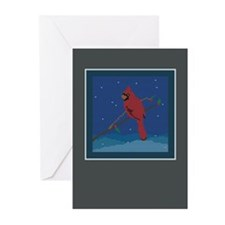Knit Cardinal Greeting Cards (Pk of 20)