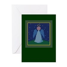 Knit Angel Greeting Cards (Pk of 10)