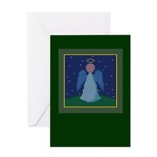 Knit Angel Greeting Card