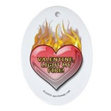 Valentine, Light My Fire Keepsake Pendant