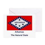Arkansas State Flag Greeting Cards (Pk of 20)