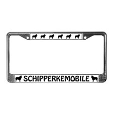 Schipperkemobile License Plate Frame