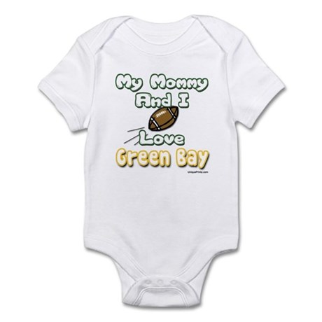 My Mommy And I Love Green Bay Infant Bodysuit