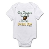 My Mommy And I Love Green Bay Onesie
