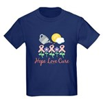 Flower Pink Ribbon Kids T-Shirt
