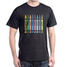 Colorful Crayons T-Shirt
