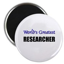 Worlds Greatest RESEARCHER Magnet
