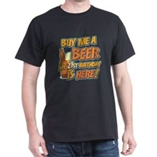 Buy Beer 21st Birthday T-Shirt