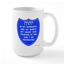 YHVH Is My Shield Mug