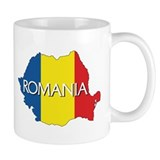 Map of Romania Mug