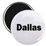 Dallas texas Fridge Magnets
