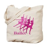 Ballerinas Dance Ballet Tote Bag