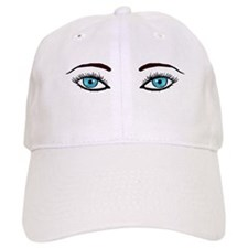 Blue Eyes Baseball Cap