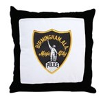 Birmingham Police Throw Pillow