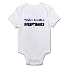 Worlds Greatest RECEPTIONIST Infant Bodysuit