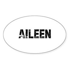 Aileen Oval Decal