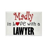Madly In Love (Lawyer) Rectangle Magnet (100 pack)