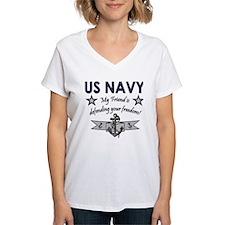 US Navy Friend Defending Shirt