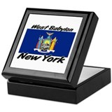 West Babylon New York Keepsake Box