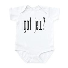 got jew? Infant Bodysuit