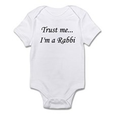 I'm a Rabbi Infant Bodysuit
