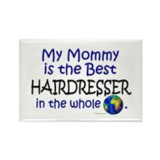 Best Hairdresser In The World (Mommy) Rectangle Ma