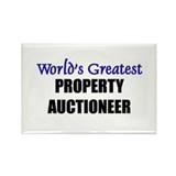 Worlds Greatest PROPERTY AUCTIONEER Rectangle Magn