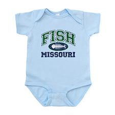 Fish Missouri Infant Bodysuit
