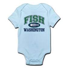 Fish Washington Infant Bodysuit