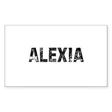 Alexia Rectangle Decal