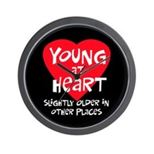 Young at heart Wall Clock