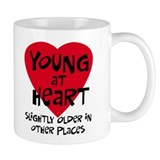 Young at heart Small Mug