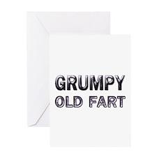 grumpy old fart Greeting Card