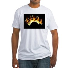 FLAMING ROYAL FLUSH POKER ART Shirt